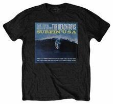 T-Shirt Unisex Tg. S. Beach Boys : Surfin Usa