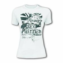 T-Shirt Unisex Sex Pistols. Flag Tour. Taglia L