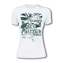 T-Shirt Unisex Sex Pistols. Flag Tour. Taglia XL