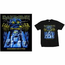 T-Shirt Unisex Tg. L. Iron Maiden: Back In Time Mummy