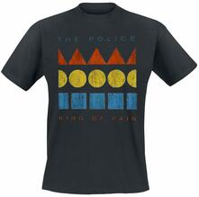 T-Shirt Unisex Tg. XL. Police: Kings Of Pain
