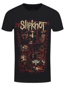 T-Shirt Unisex Tg. M Slipknot: Sketch Boxes