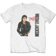 T-Shirt Unisex Tg. M. Michael Jackson: Bad