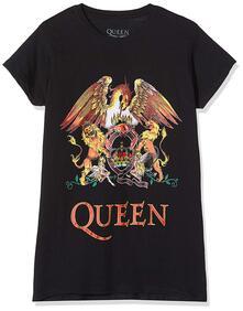 T-Shirt Donna Tg. XL. Queen: Classic Crest