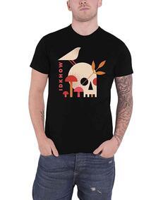 T-Shirt Unisex Tg. 2XL. Idkhow: Mushroom Skull