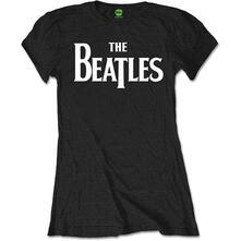 T-Shirt Donna Tg. L. Beatles: Drop T Logo