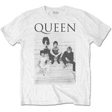 T-Shirt Unisex Tg. XL. Queen - Stairs