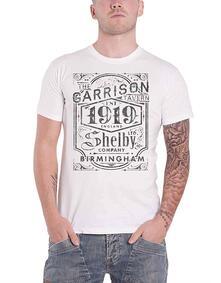 T-Shirt Unisex Tg. L. Peaky Blinders: Garrison Pub White
