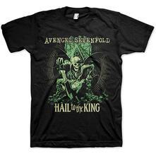 T-Shirt Unisex Tg. 2XL. Avenged Sevenfold: Hail To The King En Vie