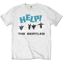 T-Shirt Unisex Tg. S. Beatles: Help! Snow