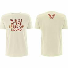 T-Shirt Unisex Tg. L. Paul Mccartney - Wings At The Speed Of Sound