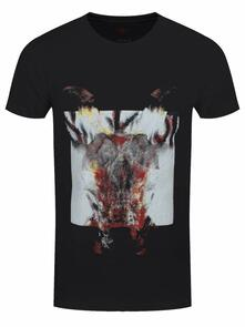 T-Shirt Unisex Tg. XL. Slipknot - Devil Single - Logo Blur