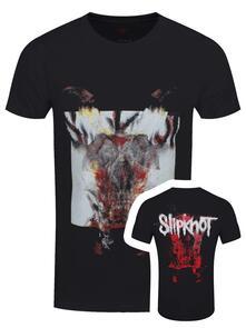 T-Shirt Unisex Tg. 2XL. Slipknot - Devil Single - Logo Blur