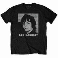 T-Shirt Unisex Tg. M. Syd Barrett: Headshot