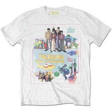 T-Shirt Uomo Tg. M. Beatles: Yellow Submarine Vintage Movie Poster