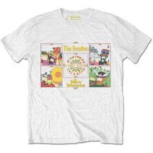 T-Shirt Uomo Tg. 2XL. Beatles: Yellow Submarine Sgt Pepper Band