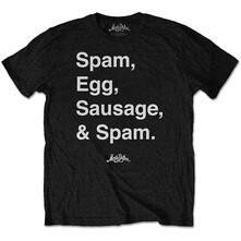 T-Shirt Unisex Tg. L. Monty Python - Spam