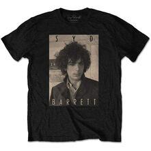 T-Shirt Unisex Tg. L. Syd Barrett: Sepia