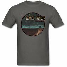 Baseball Shirt Unisex Tg. S. James Taylor: 2018 Tour Country Road