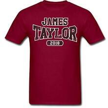 T-Shirt Unisex Tg. M. James Taylor: 2018 Tour Logo