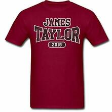T-Shirt Unisex Tg. L. James Taylor: 2018 Tour Logo