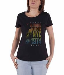 T-Shirt Donna Tg. XL Blondie: Made In Nyc