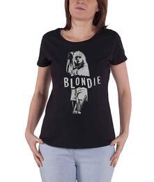 T-Shirt Donna Tg. M. Blondie: Mic. Stand