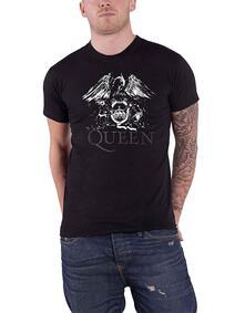 T-Shirt Unisex Tg. XL. Queen: Crest Logo