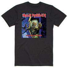 T-Shirt Unisex Tg. XL. Iron Maiden: No Prayer For The Dying
