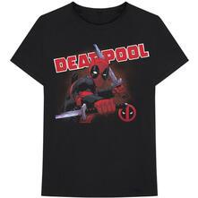 T-Shirt Unisex Tg. S. Marvel Comics: Deadpool Cover