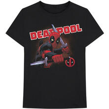 T-Shirt Unisex Tg. XL. Marvel Comics: Deadpool Cover