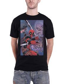 T-Shirt Unisex Tg. M. Marvel Comics: Deadpool Composite