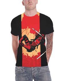 T-Shirt Unisex Tg. XL. Marvel Comics: Deadpool Samurai