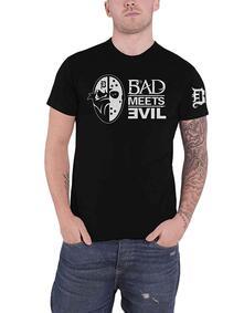 T-Shirt Unisex Tg. S. Bad Meets Evil: Masks