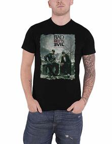 T-Shirt Unisex Tg. XL. Bad Meets Evil: Burnt