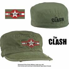 Cappellino Clash: Military Star Logo Distressed M/L