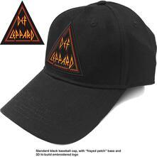 Cappello Def Leppard: Tri Logo Baseball