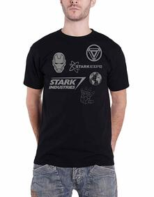 T-Shirt Unisex Tg. M. Marvel Comics: Iron Man Stark Expo