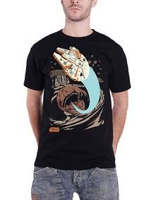 T-Shirt Unisex Tg. M. Star Wars: Falcon Archetype