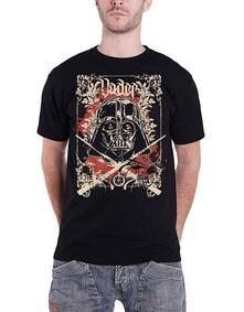 T-Shirt Unisex Tg. L. Star Wars: Vader Decor