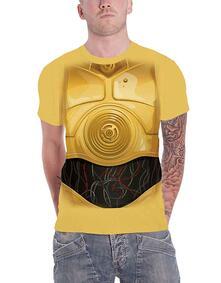 T-Shirt Unisex Tg. S. Star Wars: C-3Po Chest
