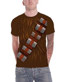 T-Shirt Unisex Tg. S. Star Wars: Chewbacca Chest