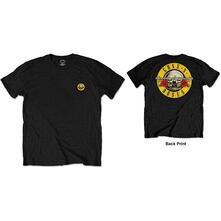 T-Shirt Unisex Tg. L Guns N' Roses: Classic Logo Black