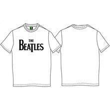 T-Shirt Bambino 3-4 Anni Beatles: Drop T Logo White