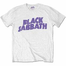 T-Shirt Bambino 3-4 Anni Black Sabbath: Wavy Logo