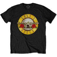 T-Shirt Bambino 5-6 Anni Guns N' Roses: Classic Logo Black