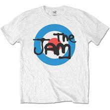 T-Shirt Bambino 3-4 Anni Jam: Spray Target Logo White
