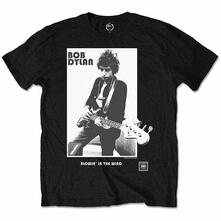 T-Shirt Bambino 9-10 Anni Bob Dylan: Blowing In The Wind