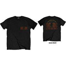 T-Shirt Unisex Tg. S. Ac/Dc: Hard As Rock