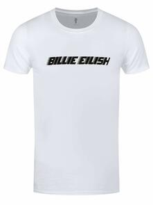 T-Shirt Unisex Tg. L. Billie Eilish: Black Racer Logo